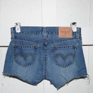 Levi's womens cut off short size 14 -2330-